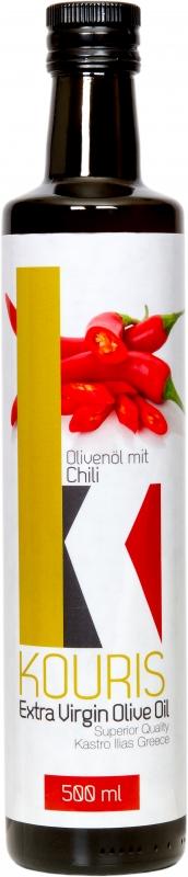 Griechisches Olivenöl mit Chili